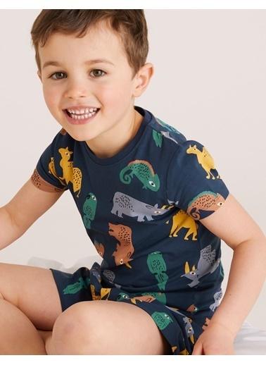 Marks & Spencer Pijama Takım Lacivert